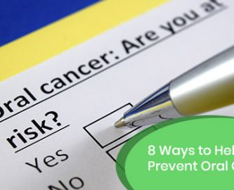 Ways to Help Prevent Oral Cancer