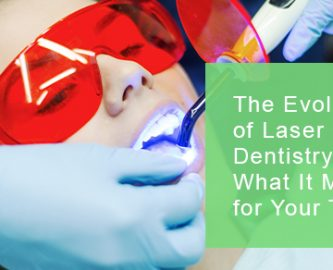 The evolution of laser dentistry and how it contributes to good oral hygiene